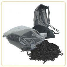 Уголь активированный для внешних и внутренних аквариумных фильтров MJ 300г