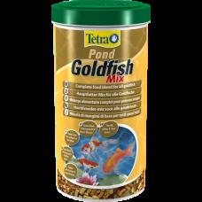 Корм Tetra Pond Goldfish Mix для золотых рыбок кормовая смесь 4л 170001