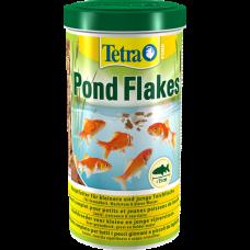 Корм Tetra Pond Flakes смесь хлопьев для мелких рыб 10л 172012