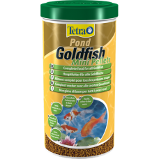Корм Tetra Pond Goldfish Mini Pellets для всех видов прудовых рыб 1л 203365