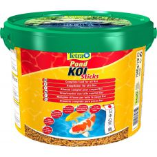 Корм Tetra Pond Koi Sticks основной корм для прудовых рыб 10л 758629