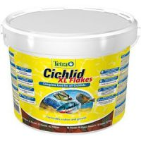 Корм Tetra Cichlid XL Flakes хлопья для крупных цихлид (хлопья) 10л 201415
