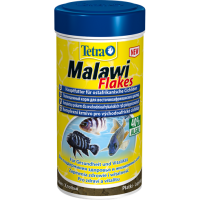 Корм Tetra Malawi Flakes для питания всех травоядных цихлид (хлопья) 100 мл 244191