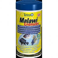 Корм Tetra Malawi Gran для питания всех травоядных цихлид (гранулы) 250 мл 255890