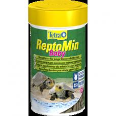 Корм Tetra ReptoMin Baby для маленьких черепах (гранулы) 100мл 140158