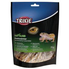 Корм для рептилий Trixie Черви мучные сушенные 70г 76391