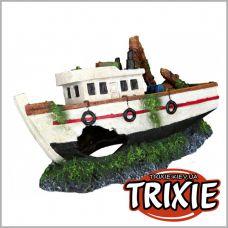 Декорация для аквариума Рыбацкая лодка 15см TRIXIE 87818