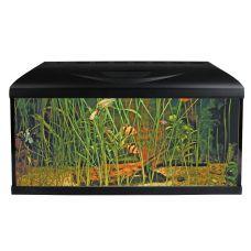 Аквариумный набор на 95 литров Wave BASIC 80 LED (черный)