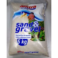 Грунт для аквариума Amatra SABBIA BIANKA кварцевый белый песок 1мм 5кг